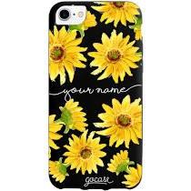 black sunflower iphone - Google Search
