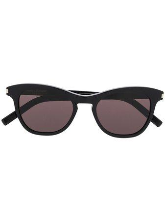 Saint Laurent Eyewear SL 356 cat-eye Style Sunglasses - Farfetch