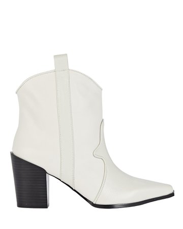 Senso Quillan II Western Leather Ankle Boots | INTERMIX®