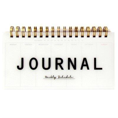 Agenda Semanal (Sem Data) Planner Espiral Artbox - Journal Weekly