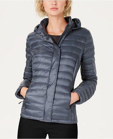 32 Degrees Packable Hooded Down Puffer Coat & Reviews - Coats - Women - Macy's