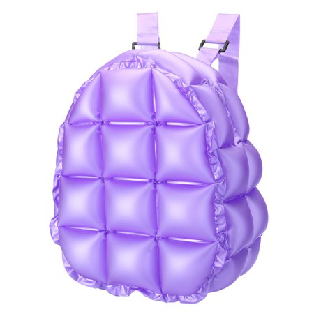 inflatable bubble blow up backpack 90s retro rave festive bopping spice girls space bags at Banggood|Shopping USA