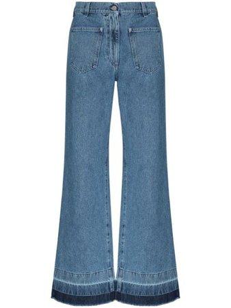 JW Anderson high-waist Flared Jeans - Farfetch