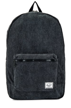 Herschel Supply Co. Cotton Casuals Packable Daypack in Black   REVOLVE