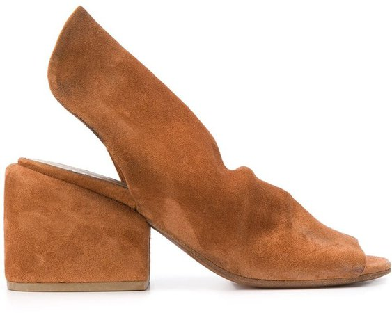 Open-Toe Slip-On Sandals