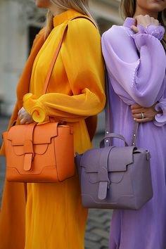 orange lilac combo