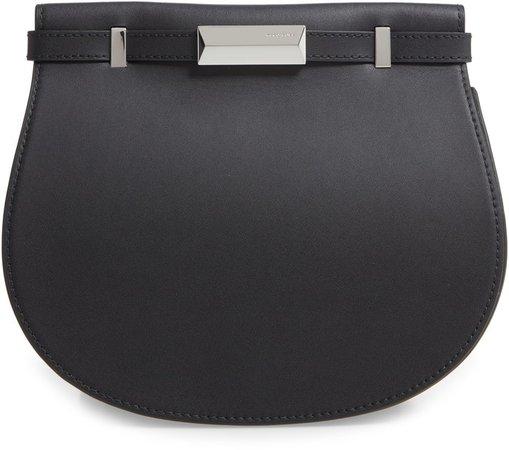 Nathalie Leather Shoulder Bag