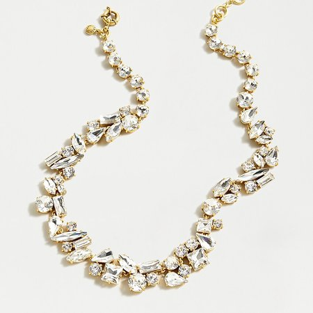 J.Crew: Mixed Crystal Statement Necklace