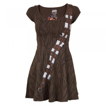 Womens Star Wars Chewbacca Skater Dress