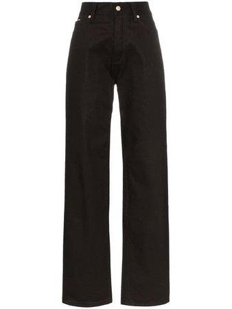 Eytys Benz High Waisted Baggy Jeans - Farfetch