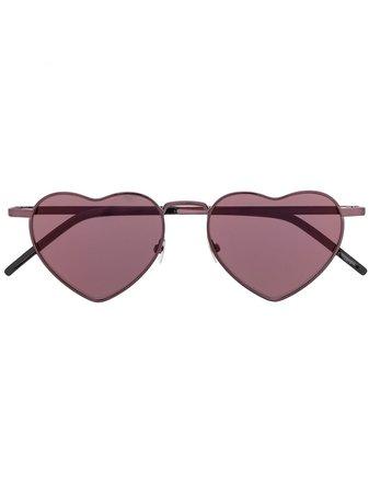Saint Laurent Eyewear Heart Frame Sunglasses Aw20   Farfetch.Com