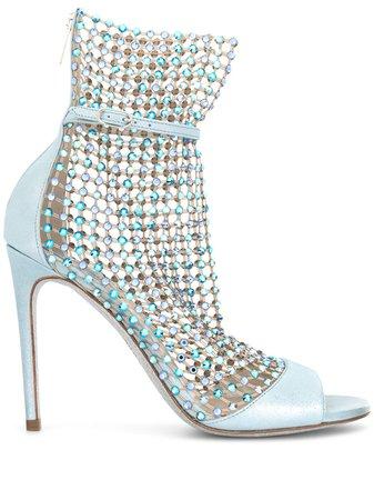 René Caovilla Galaxia rhinestone-embellished Sandals - Farfetch