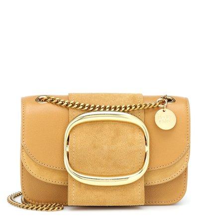 Hopper Small leather shoulder bag