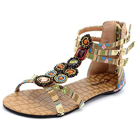 Bohemian Sandals: Amazon.com