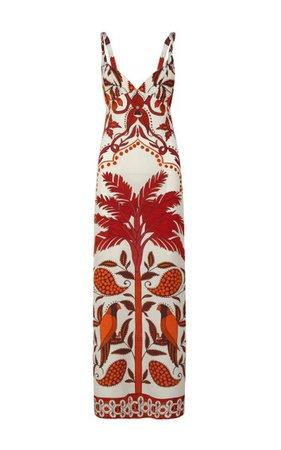 Vin Du Maroc Silk Maxi Dress By Johanna Ortiz   Moda Operandi