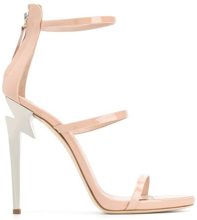 G-heel sandals