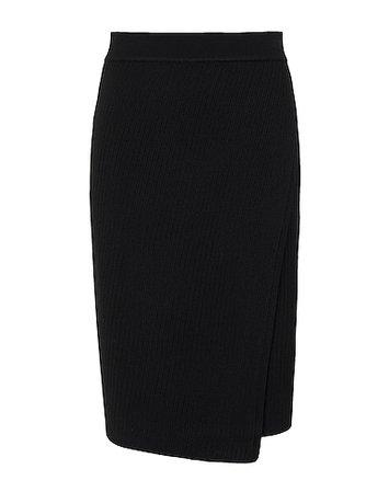 8 By Yoox Knit Wrap High-Waist Skirt - Midi Skirts - Women 8 By Yoox Midi Skirts online on YOOX United States - 35459771HR