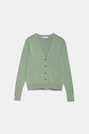KNIT JACKET WITH BUTTONS | ZARA United States