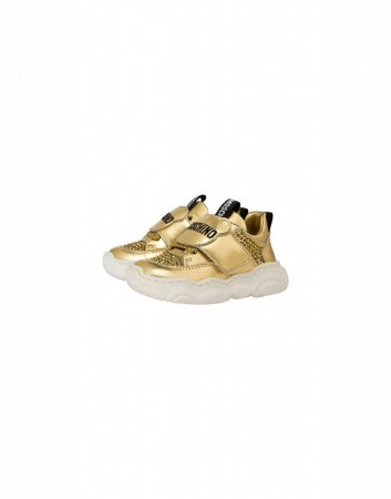 Sneakers Teddy Shoes Gold