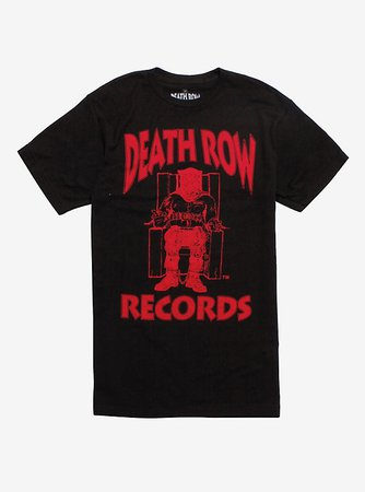Death Row Records Red Logo T-Shirt