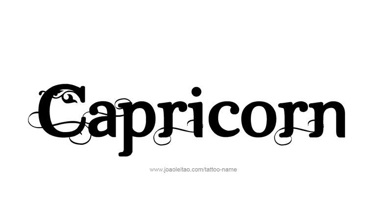 capricorn text - Google Search