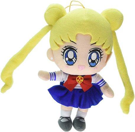 "Amazon.com: Great Eastern Entertainment Sailor Moon S - Usagi 8"" Plush: Toys & Games"