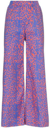 Double Rainbouu On Shore wide leg trousers