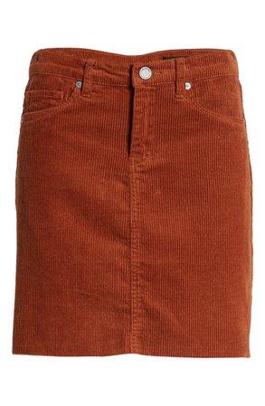 BLANKNYC Corduroy A-Line Miniskirt | Nordstrom
