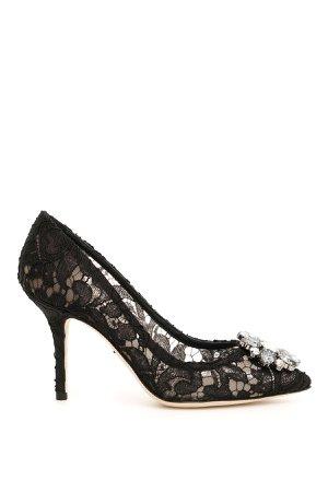 Dolce & Gabbana Lace Bellucci Pumps