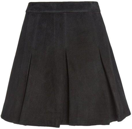 Lee Suede Mini Skirt