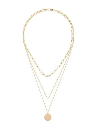 Petite Grand Three Layered Miro necklace