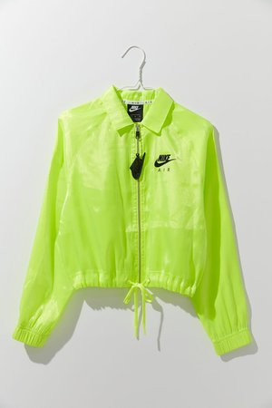 Nike Air Semi-Sheer Coach Jacket | Urban Outfitters
