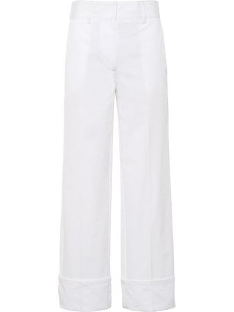 Prada wide-leg Trousers - Farfetch