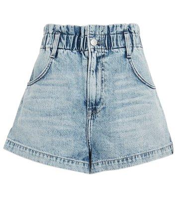 GRLFRND Rory High-Rise Denim Shorts   INTERMIX®