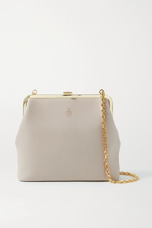Susanna Leather Shoulder Bag - Mushroom
