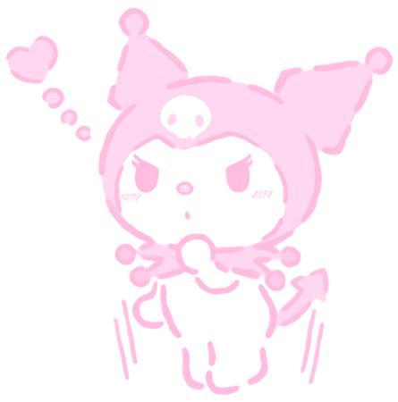 pink kuromi