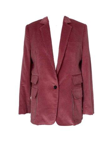 hiraeth - blush suit jacket