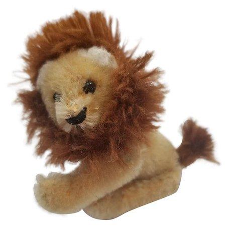 Vintage 1940's Schuco Noah's Ark Lion : Your-Favorite-Doll | Ruby Lane