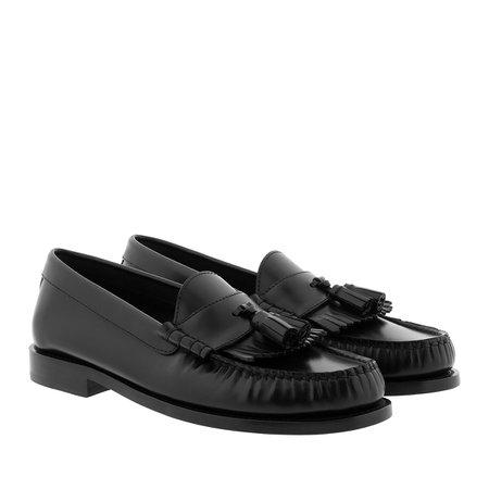 Celine Luco Loafer Polished Calfskin Nero in black | fashionette