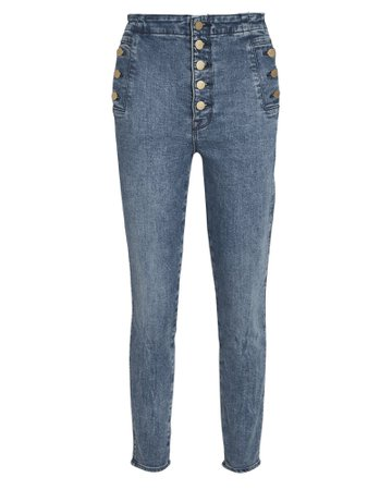 J Brand | Natasha High-Rise Skinny Jeans | INTERMIX®