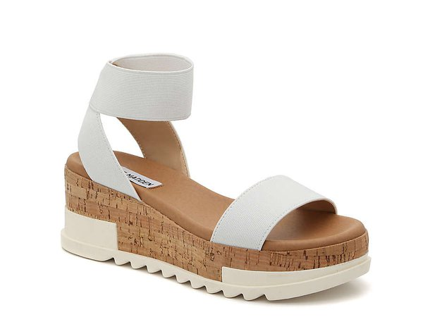 Steve Madden Elba Wedge Sandal Women's Shoes   DSW