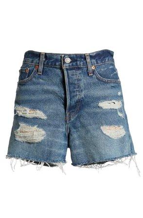 Levi's® Wedgie Update High Waist Cutoff Denim Shorts (Balancing Act) | Nordstrom