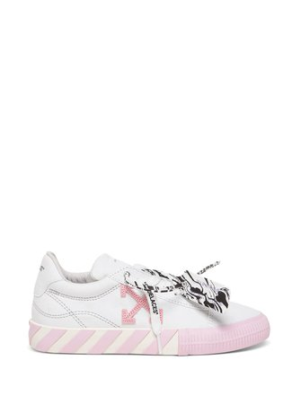 Off-White Low Vulcanized Sneakers With Logo