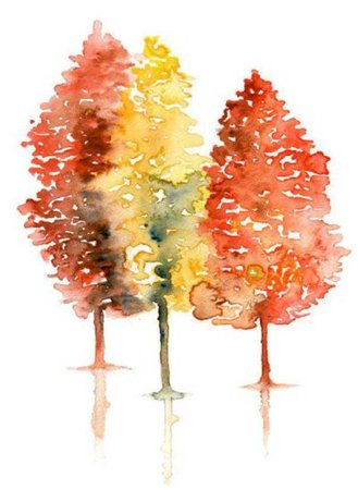 fall trees png