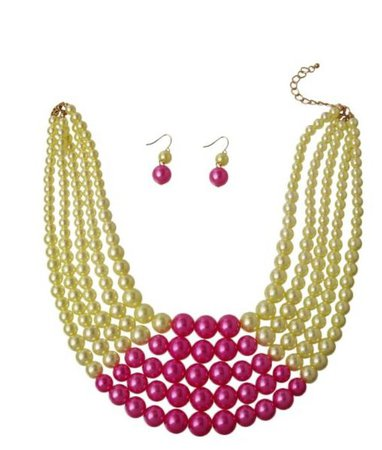 Graduated Pearl Necklace Set
