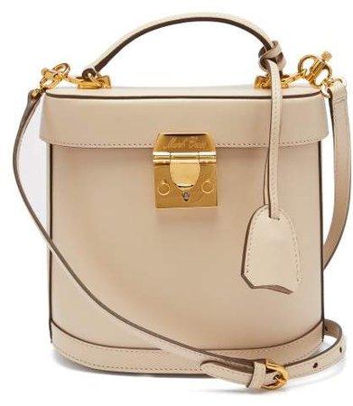 Benchley Leather Shoulder Bag - Womens - Beige