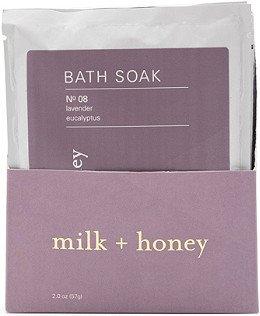 Milk + Honey Lavender, Eucalyptus Bath Soak No.08 Set   Ulta Beauty