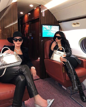 Kris and Kylie Jenner's Matching