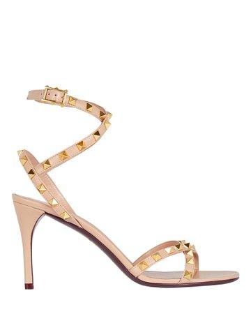 Valentino Garavani Rockstud Leather Sandals | INTERMIX®