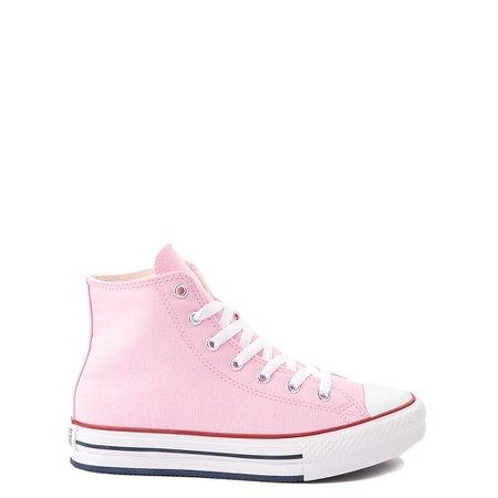 Converse Chuck Taylor All Star Hi Platform Sneaker - Little Kid / Big Kid - Pink Glaze   Journeys